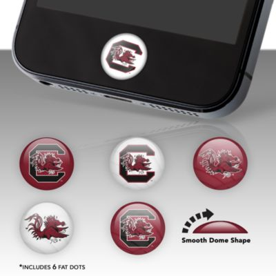 South Carolina Gamecocks Fat Dots Stickers