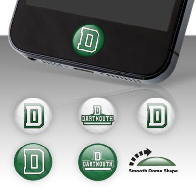 Dartmouth Big Green Fat Dots Stickers