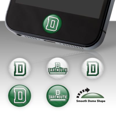 Dartmouth Big Green Fat Dots Stickers