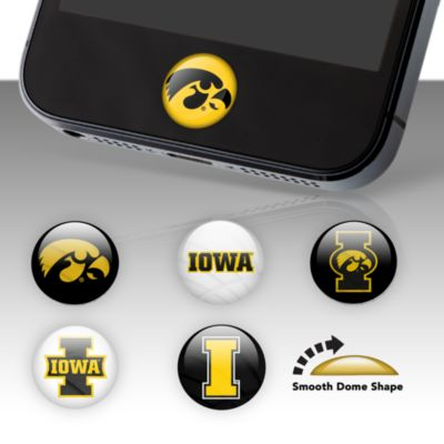 Iowa Hawkeyes Fat Dots Stickers