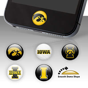 Iowa Hawkeyes Fat Dots