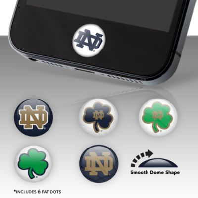 Notre Dame Fighting Irish Fat Dots Stickers