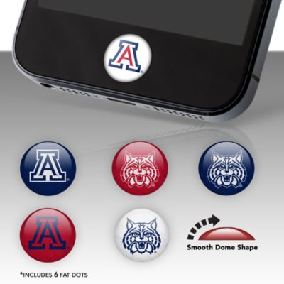 Arizona Wildcats Fat Dots Stickers