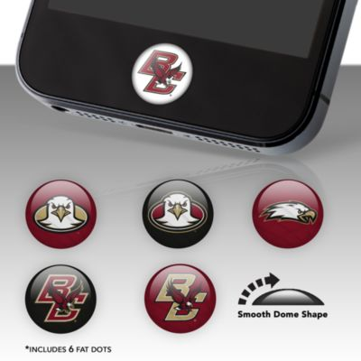 Boston College Fat Dots Stickers