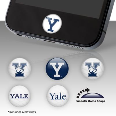 Yale Bulldogs Fat Dots Stickers