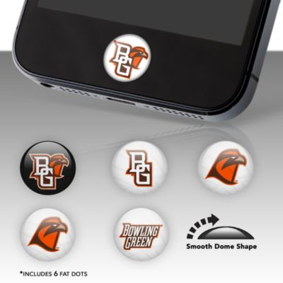 Bowling Green Falcons Fat Dots Stickers