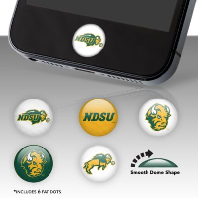 North Dakota State Bison Fat Dots Stickers