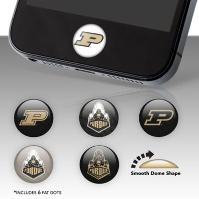 Purdue Boilermakers Fat Dots Stickers