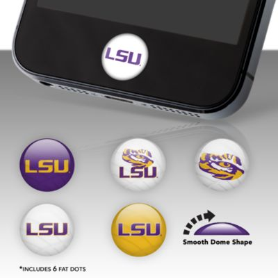 LSU Tigers Fat Dots Stickers