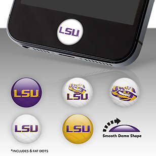LSU Tigers Fat Dots