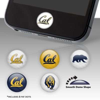 California Golden Bears Fat Dots Stickers