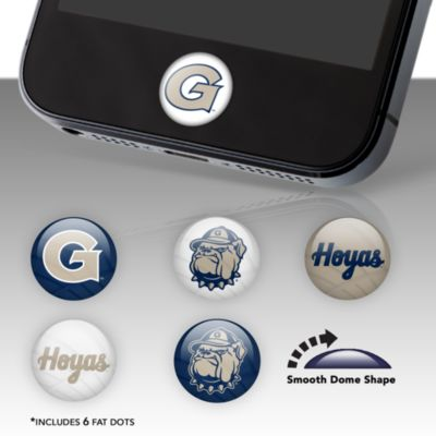 Georgetown Hoyas Fat Dots Stickers