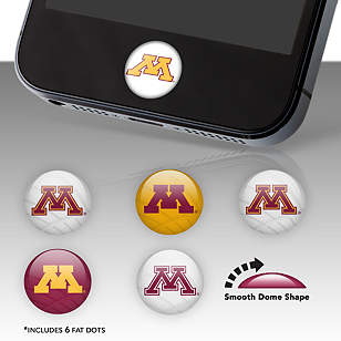 Minnesota Golden Gophers Fat Dots