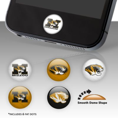 Missouri Tigers Fat Dots Stickers