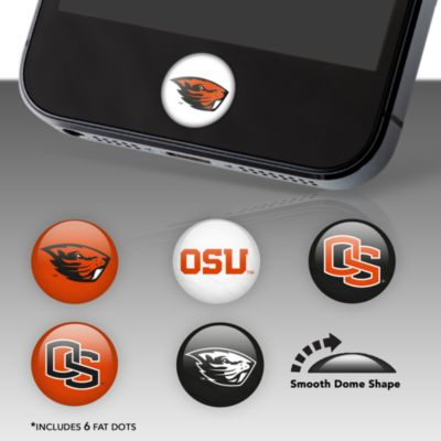 Oregon State Beavers Fat Dots Stickers