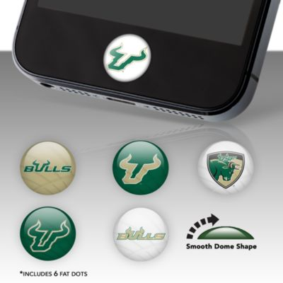 South Florida Bulls Fat Dots Stickers