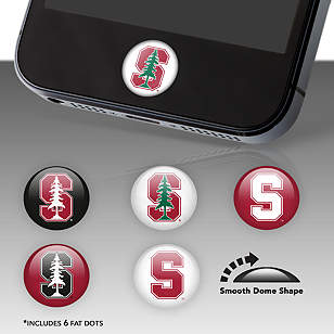 Stanford Cardinal Fat Dots