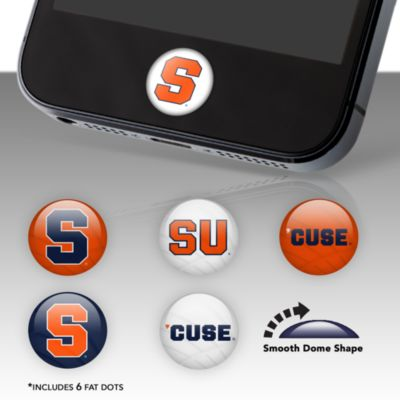 Syracuse Orange Fat Dots Stickers
