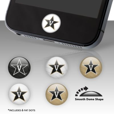 Vanderbilt Commodores Fat Dots Stickers
