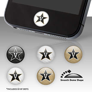 Vanderbilt Commodores Fat Dots