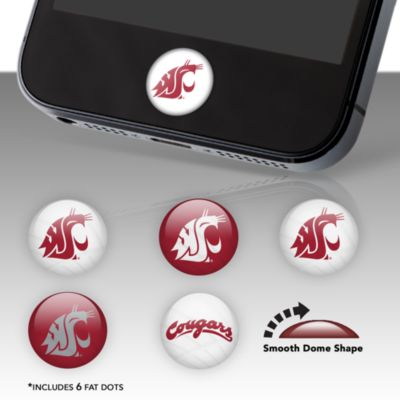 Washington State Cougars Fat Dots Stickers