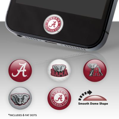 Alabama Crimson Tide Fat Dots Stickers