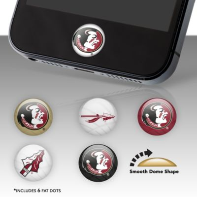 Florida State Seminoles Fat Dots Stickers