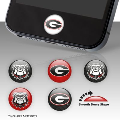 Georgia Bulldogs Fat Dots Stickers