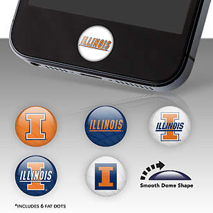 Illinois Fighting Illini Fat Dots
