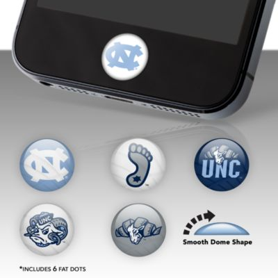 North Carolina Tar Heels Fat Dots Stickers
