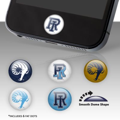 Rhode Island Rams Fat Dots Stickers