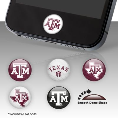 Texas A&M Aggies Fat Dots Stickers