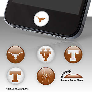 Texas Longhorns Fat Dots Stickers