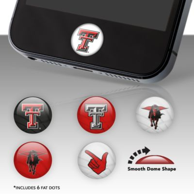 Texas Tech Red Raiders Fat Dots Stickers