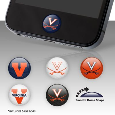 Virginia Cavaliers Fat Dots Stickers