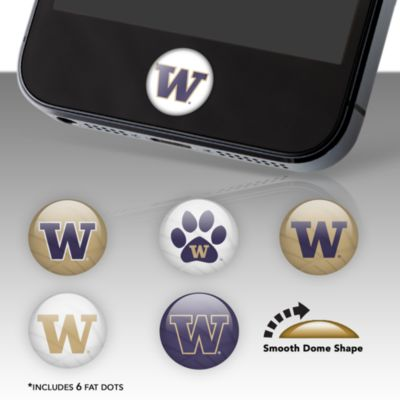 Washington Huskies Fat Dots Stickers