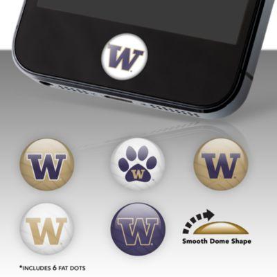 Washington Huskies Fat Dots Stickers