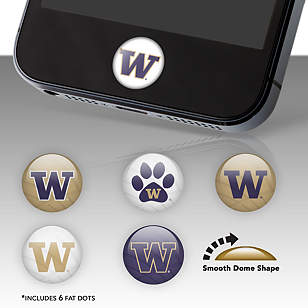 Washington Huskies Fat Dots