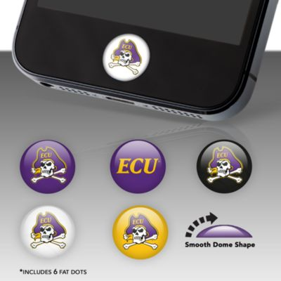 East Carolina Pirates Fat Dots Stickers