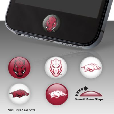 Arkansas Razorbacks Fat Dots Stickers