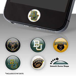 Baylor Bears Fat Dots Stickers