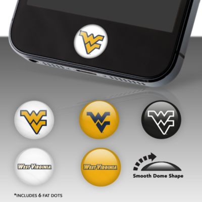 West Virginia Mountaineers Fat Dots
