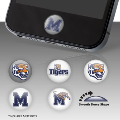 Memphis Tigers Fat Dots Stickers