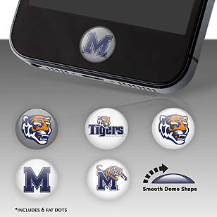 Memphis Tigers Fat Dots