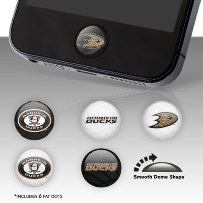 Anaheim Ducks Fat Dots  Stickers