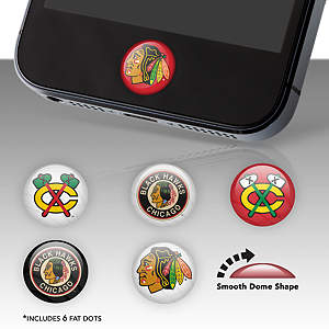 Chicago Blackhawks Fat Dots Stickers