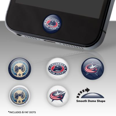 Columbus Blue Jackets Fat Dots Stickers