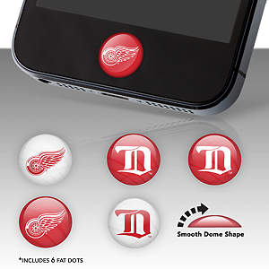 Detroit Red Wings Fat Dots Stickers