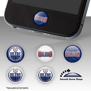 Edmonton Oilers Fat Dots Stickers