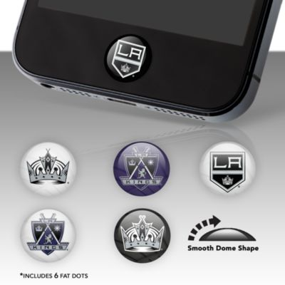Los Angeles Kings Fat Dots Stickers